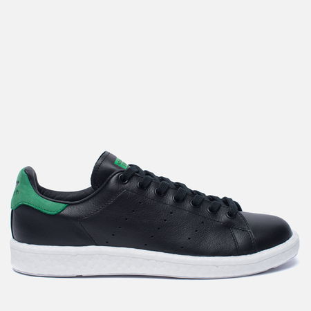 Кроссовки adidas Originals Stan Smith Boost Core Black/Green