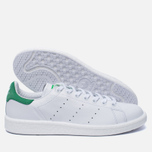 Кроссовки adidas Originals Stan Smith Boost Running White/Green фото- 1