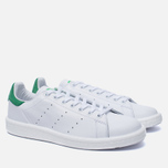 Кроссовки adidas Originals Stan Smith Boost Running White/Green фото- 2