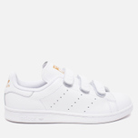 Кроссовки adidas Originals Stan Smith CF White/Gold фото- 0
