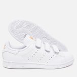 Кроссовки adidas Originals Stan Smith CF White/Gold фото- 2