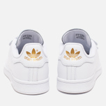Кроссовки adidas Originals Stan Smith CF White/Gold фото- 3