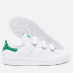 Кроссовки adidas Originals Stan Smith CF White/White/Green фото- 2