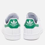 adidas Originals Stan Smith CF Sneakers White/White/Green photo- 3