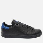 adidas Originals Stan Smith Core Sneakers Black/Collegiate Royal photo- 0