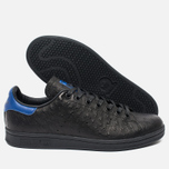 Кроссовки adidas Originals Stan Smith Core Black/Collegiate Royal фото- 2