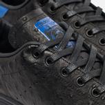 adidas Originals Stan Smith Core Sneakers Black/Collegiate Royal photo- 3