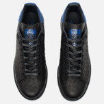 Кроссовки adidas Originals Stan Smith Core Black/Collegiate Royal фото- 4