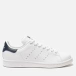 Кроссовки adidas Originals Stan Smith Core White/Core White/Blue фото- 0