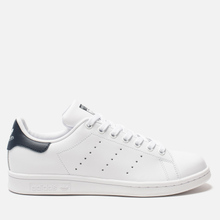 Кроссовки adidas Originals Stan Smith Core White/Core White/Blue фото- 3