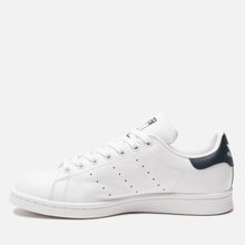 Кроссовки adidas Originals Stan Smith Core White/Core White/Blue фото- 5