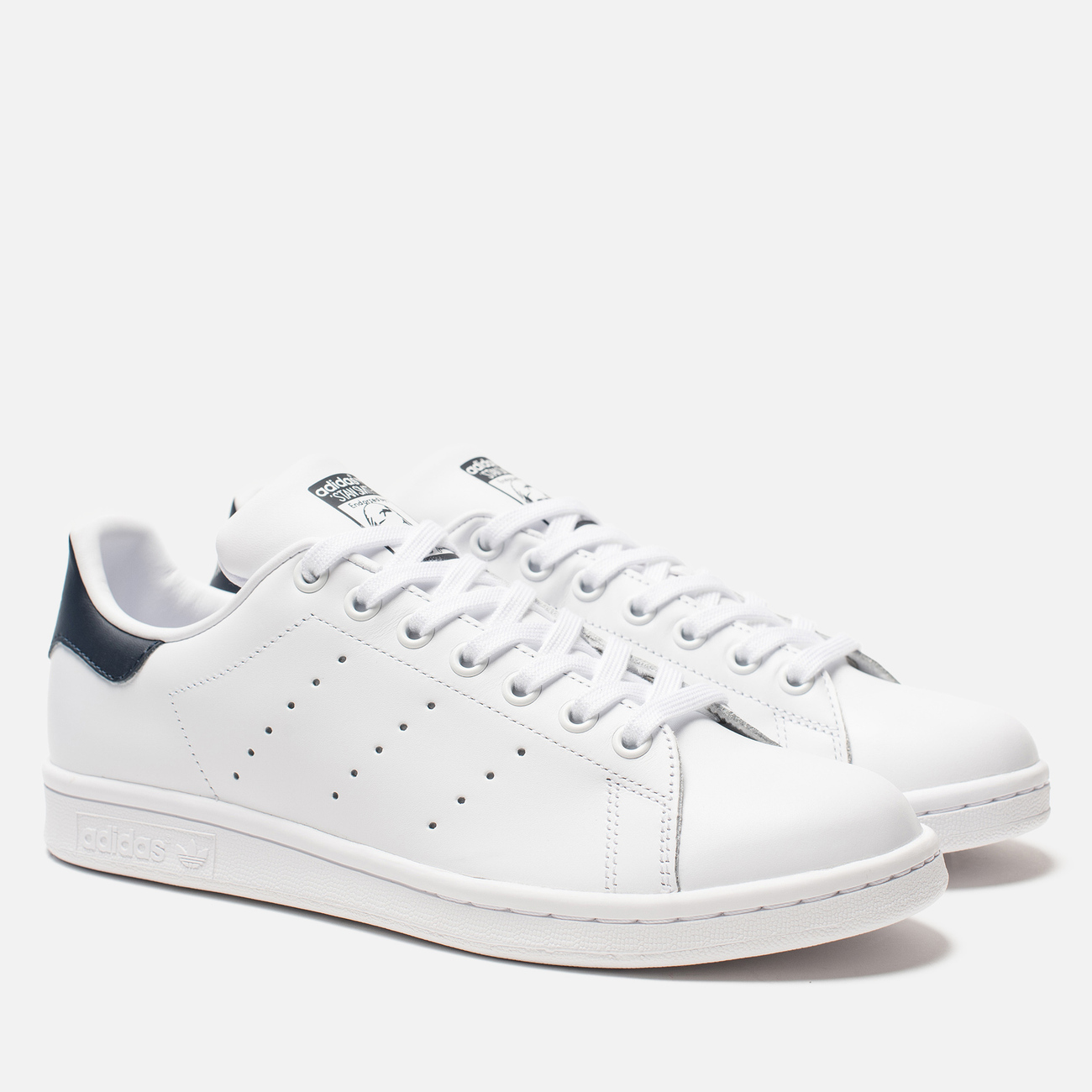 Кроссовки adidas Originals Stan Smith Core White/Core White/Blue