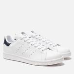 Кроссовки adidas Originals Stan Smith Core White/Core White/Blue фото- 1