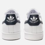Кроссовки adidas Originals Stan Smith Core White/Core White/Blue фото- 3