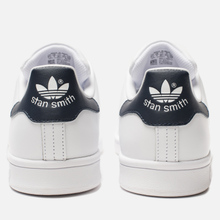 Кроссовки adidas Originals Stan Smith Core White/Core White/Blue фото- 2