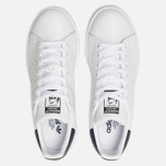 Кроссовки adidas Originals Stan Smith Core White/Core White/Blue фото- 5