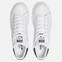 Кроссовки adidas Originals Stan Smith Core White/Core White/Blue фото- 1