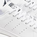 Кроссовки adidas Originals Stan Smith Core White/Core White/Blue фото- 6