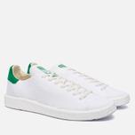 Кроссовки adidas Originals Stan Smith Primeknit Boost White/Green фото- 2