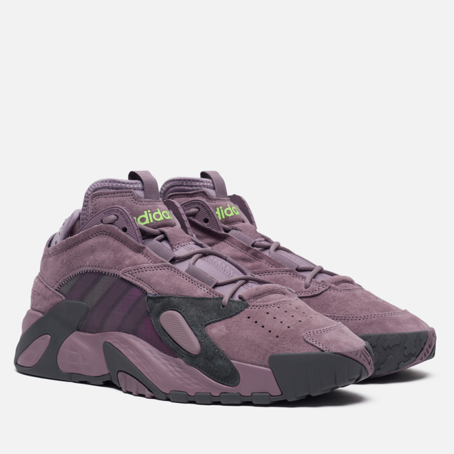 Кроссовки adidas Originals Streetball Legacy Purple/Grey Six/Signal Green