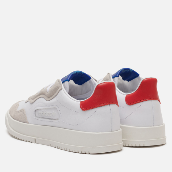 Кроссовки adidas Originals Super Court Premiere Cloud White/Cloud White/Glory Red
