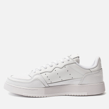 Кроссовки adidas Originals Supercourt White/White/Core Black фото- 5