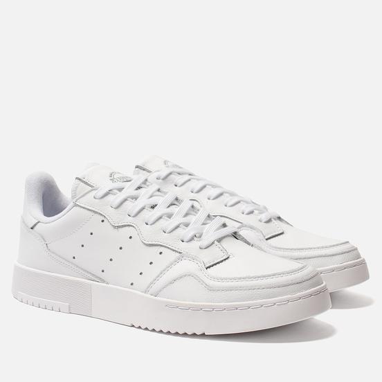 Мужские кроссовки adidas Originals Supercourt White/White/Core Black