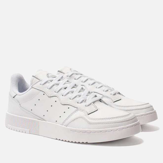 Мужские кроссовки adidas Originals Supercourt White/White/Core Black