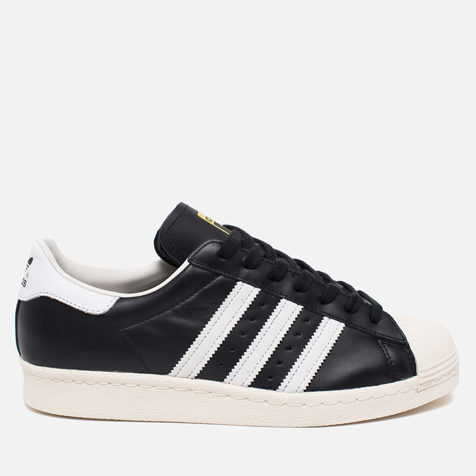 Кроссовки adidas Originals Superstar 80s Core Black/White/Chalk