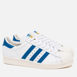 Кроссовки adidas Originals Superstar 80s White/Dark Royal/Chalk White фото- 1