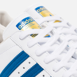 Кроссовки adidas Originals Superstar 80s White/Dark Royal/Chalk White фото- 5