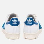 Кроссовки adidas Originals Superstar 80s White/Dark Royal/Chalk White фото- 3