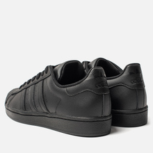 Кроссовки adidas Originals Superstar Core Black/Core Black фото- 2