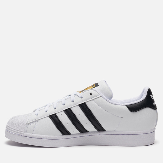 Кроссовки adidas Originals Superstar Vegan White/Core Black/Green