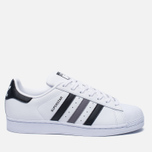 Кроссовки adidas Originals Superstar White/Black/White фото- 0