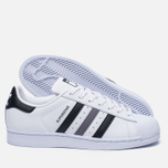 Кроссовки adidas Originals Superstar White/Black/White фото- 1
