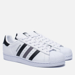 Кроссовки adidas Originals Superstar White/Black/White фото- 2