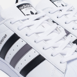 Кроссовки adidas Originals Superstar White/Black/White фото- 5