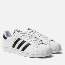 Кроссовки adidas Originals Superstar White/Core Black фото- 0