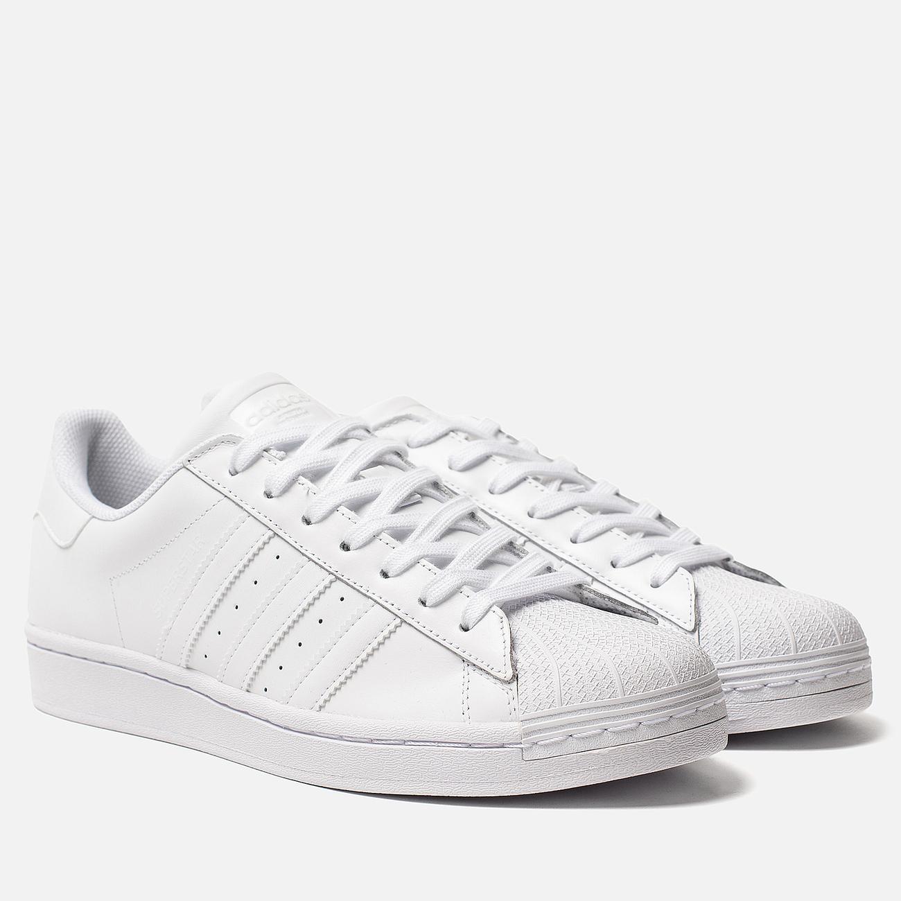 Кроссовки adidas Originals Superstar White/White/White