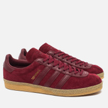 Мужские кроссовки adidas Originals Topanga Collegiate Burgundy/Gum фото- 1