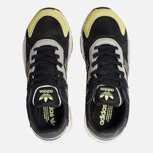 Кроссовки adidas Originals Tresc Run Core Black/Grey/Semi Frozen Yellow фото- 1