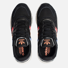 Кроссовки adidas Originals Tresc Run Core Black/Shock Red/Easy Orange фото- 1