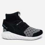 Кроссовки adidas Originals Tubular Doom Primeknit Core Black/White фото- 0
