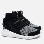 Кроссовки adidas Originals Tubular Doom Primeknit Core Black/White фото- 1
