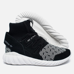 Кроссовки adidas Originals Tubular Doom Primeknit Core Black/White фото- 2