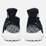 Кроссовки adidas Originals Tubular Doom Primeknit Core Black/White фото- 3