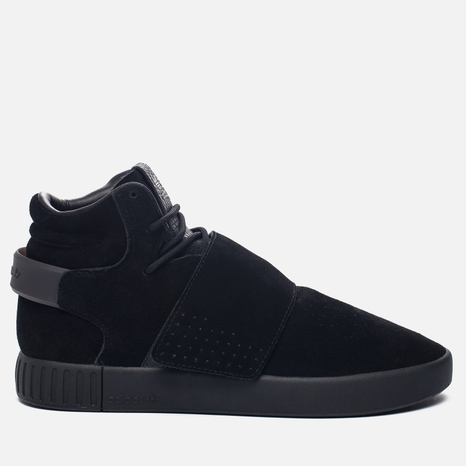 Кроссовки adidas Originals Tubular Invader Strap Core Black/Core Black/Running White