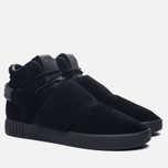 Кроссовки adidas Originals Tubular Invader Strap Core Black/Core Black/Running White фото- 2