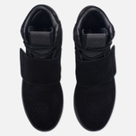 Кроссовки adidas Originals Tubular Invader Strap Core Black/Core Black/Running White фото- 4
